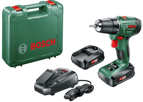 Bosch PSR 1800 LI 2 Akku Bohrschrauber mit 2 x 1,5 Ah für 103€ (statt 134€)