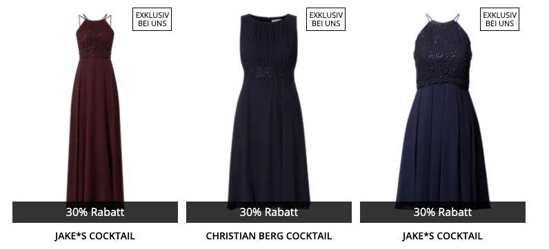 🔥 Peek & Cloppenburg* Damen Sale mit 30% Extra Rabatt auf Cocktail Kleider