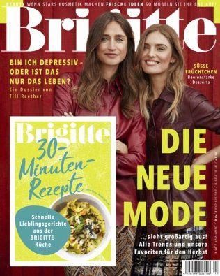 7 Ausgaben der Brigitte für 24€ + 28€ Verrechnungsscheck