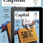 Capital Print + Digital Jahresabo für 117€ inkl. 85€ Amazon Gutschein