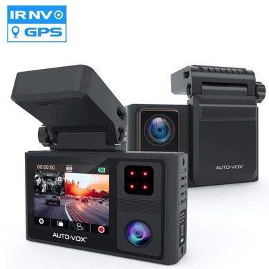AUTO VOX Dashcam Aurora mit GPS und FullHD Display & Parküberwachung für 86,99€ (statt 127€)