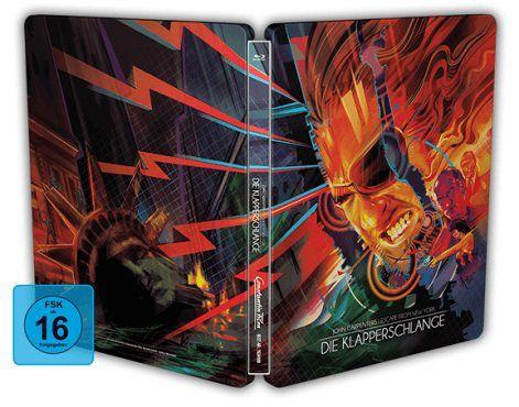 Die Klapperschlange   Exklusives nummeriertes Steelbook als Blu ray für 8,99€ (statt 16€)