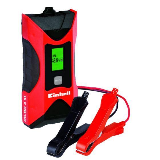 Einhell CC BC 4M Batterie Kfz. Ladegerät 6/12V für 19€ (statt 25€)