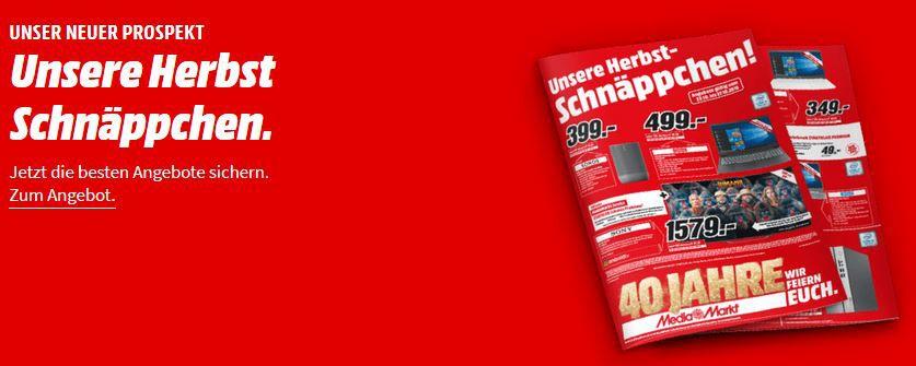 Neuer MediaMarkt Prospekt: z.B. WORX WR090S S Basic Mähroboter für 369€ (statt 429€)