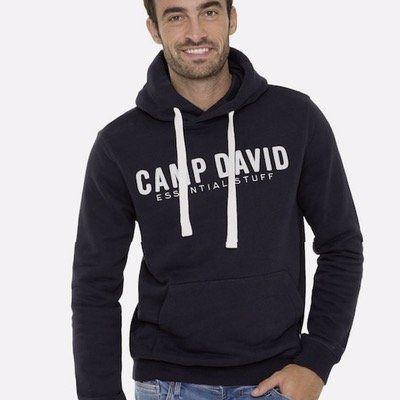 Camp David Hoodie in zwei verschiedenen Farben (S und L) für 32,40€ (statt 55€)