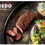 Maredo Gutschein: 2 Personen Steak Menü mit All-you-can-eat-Salat für 49,99€ (statt 79,88€)