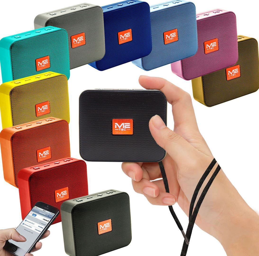 M2 tragbarer mini Bluetooth Lautsprecher mit Radio für 12,90€ (statt 15€)