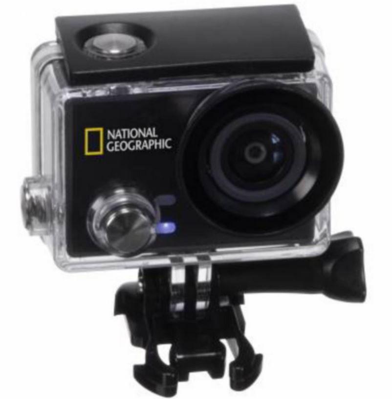 Geographic Explorer 4S UHD WLan Action Cam für 89,99€ (statt 119€)