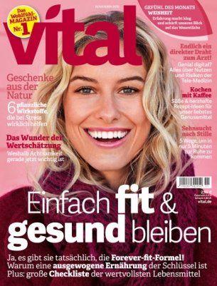 11 Ausgaben vital für 34,60€ inkl. 30€ BestChoice Gutschein