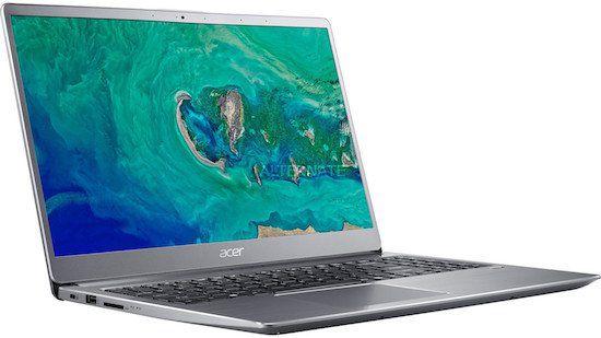 Acer Swift 3 (SF315 52)   sehr dünnes 15,6 Zoll Notebook mit beleuchteter Tastatur für 704,99€(statt 849€)