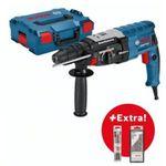 Bosch Bohrhammer GBH2-28F + L-BOXX + 6 Bohrer + 3 Meißel für 168€ (stat 205€)