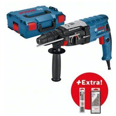 Bosch Bohrhammer GBH2 28F + L BOXX + 6 Bohrer + 3 Meißel für 168€ (stat 205€)