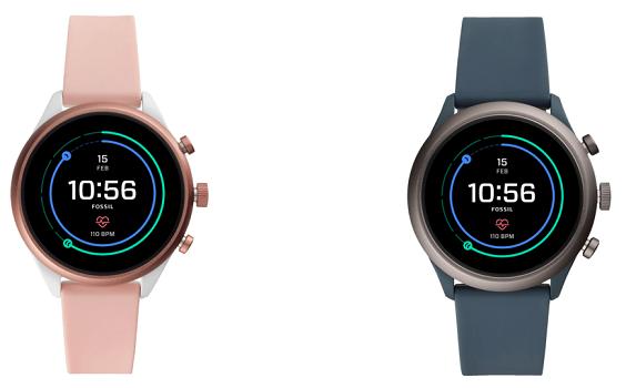 FOSSIL FTW Sport Smartwatch in Pink oder Blaugrau für je 139€ (statt 159€)