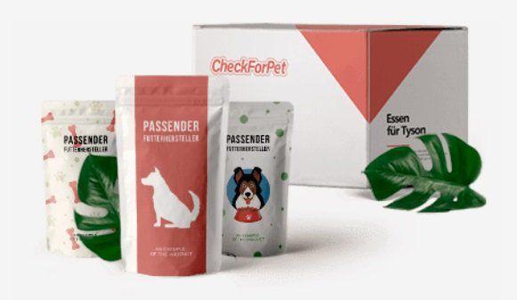 Kostenlos Futterproben von Check for Pet anfordern