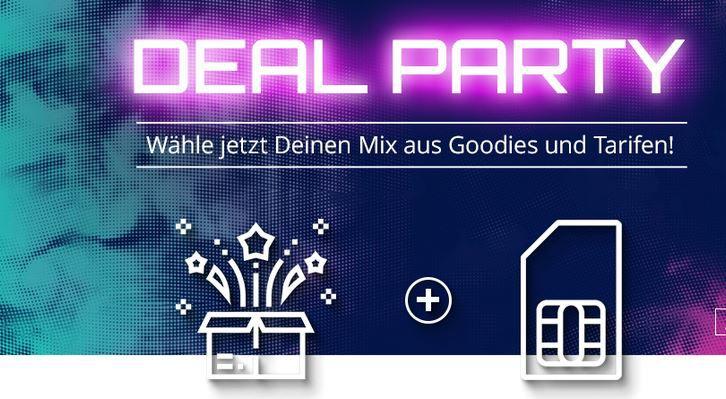Modeo Deal Party: Handyverträge mit coolen Prämien