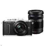 Olympus E‑PL8 Systemkamera mit Objektiv 14-42mm und 40-150mm für 404,95€ (statt 567€)