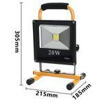 30% Rabatt auf verschiedene LED-Baustrahler mit Akku ab 16,79€