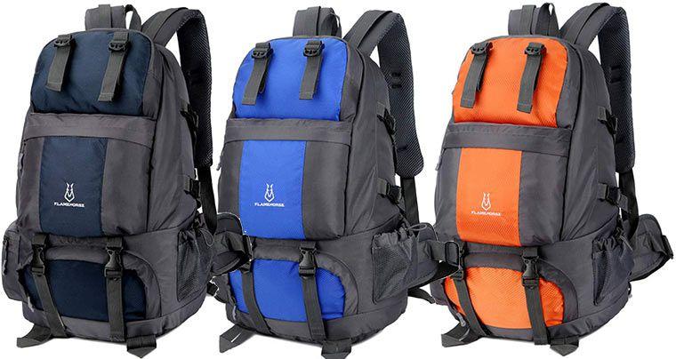 Flamehorse Wanderrucksack mit 50L in 8 Designs für je 19,99€ (statt 40€)