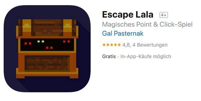 iOS: Escape Lala kostenlos (statt 2,29€)