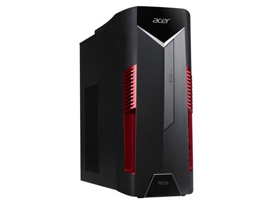 ACER Nitro 50 (N50 100) Gaming PC mit Ryzen 5 Prozessor und GeForce GTX 1060 für 759€ (statt 885€)