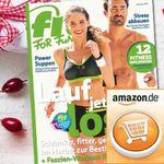 Halbjahres-Abot FIT FOR FUN 21,60€ – Selbst-Pämie: 20€ Amazon Gutschein