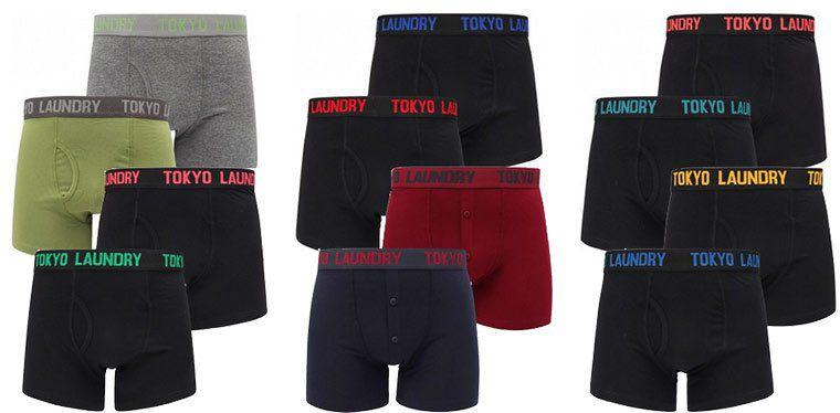 10 Tokyo Laundry Boxershorts für 38,14€ (statt 49€)   S bis XXL