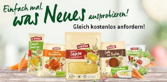 Gratis das neue Gefro Probierpaket (7 Produkte) für Neukunden