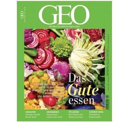 Jahresabo GEO Magazin (13 Ausgaben) für 110,50€ – Prämie: 60€ z.B. Amazon-Gutschein