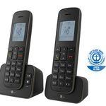 TELEKOM Sinus A 207 Duo – Schnurloses Telefonset mit 2 Mobilteilen ab 25€ (statt 33€)