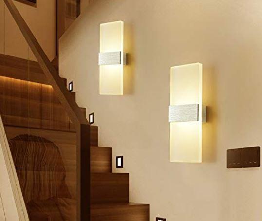 Hengda LED Wandleuchten im Doppelpack je 12W für 23,79€ (statt 34€)