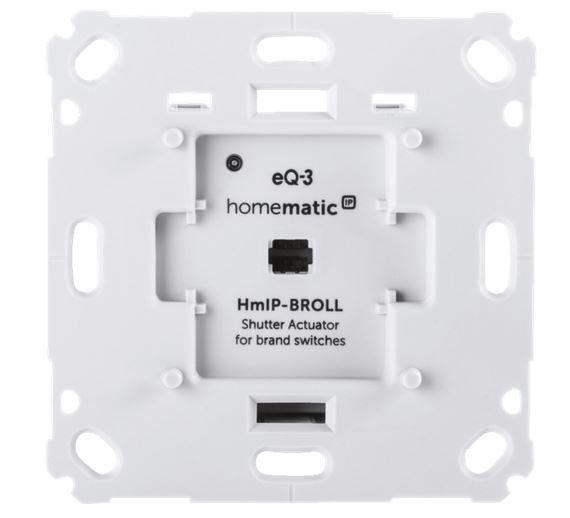 HOMEMATIC IP 151322A0 Rollladenaktor für Markenschalter (Alexa, Google Assistant) für 59€ (statt 69€)