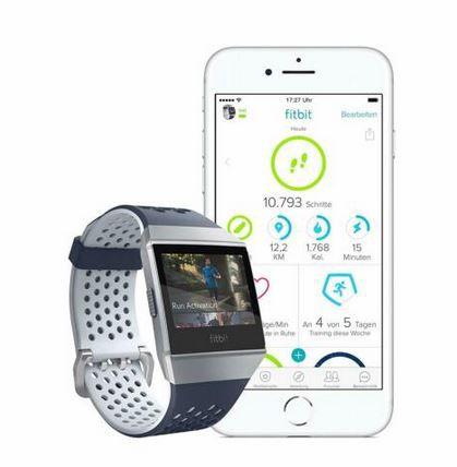 FITBIT Ionic Adidas Edition Smartwatch für 199,90€ (statt 235€)
