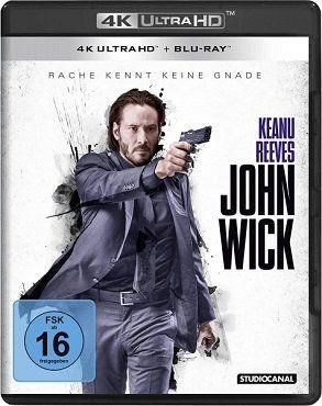 John Wick 4K Ultra HD Blu ray für 17,99€ (statt 20€)