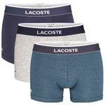 LACOSTE 3er Sets Boxershorts in verschiedenen Designs & Größen für 23,06€ (statt 45€)