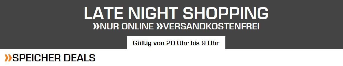 Saturn Speichermedien Late Night   z.B. SANDISK PLUS 2 TB SSD ab 159,99 (statt 212€)