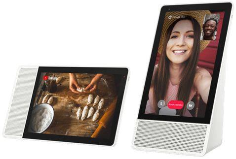 Tipp: Media Markt Tiefpreiscouch: z.B. LENOVO ZA4R0003SE Smart Clock  u. Speaker mit Sprachsteuerung für 69€ (statt 99€)