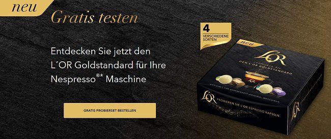 L'Or Kaffeekapseln gratis abstauben