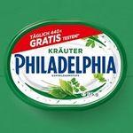 Philadelphia Frischkäse kostenlos testen