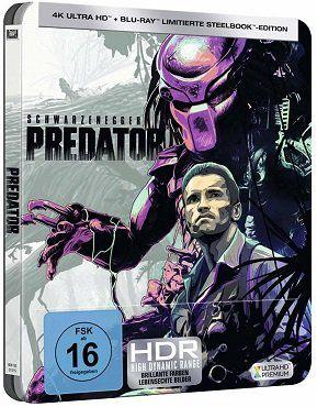 Predator (Limited Steelbook) als 4K UltraHD Blu ray für 19€ (statt 24€)
