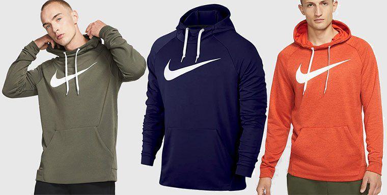Nike Dri FIT Herren Hoodie in 3 Farben für je 27,98€ (statt 35€)