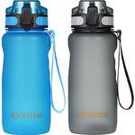 esonmus 650ml auslaufsichere Trinkflasche in 2 Farben für je 6,99€ – Prime
