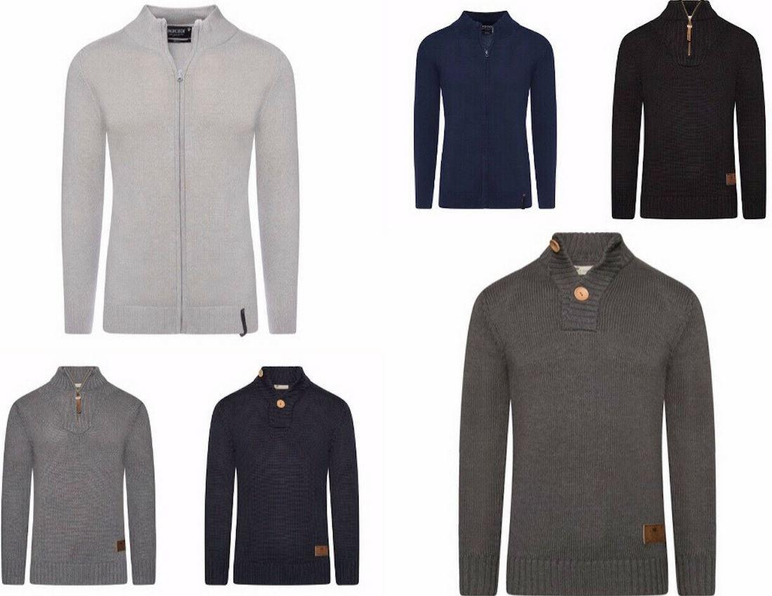 Pricedrop! Herren Strick Pullover Zip Jacket Troyer S XXL für je 21,95€ (statt 27€)