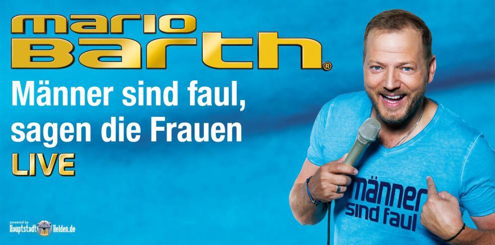 Mario Barth Live – Tickets inkl. ÜN im 4* Hotel in Hamburg ab 79€ p.P.
