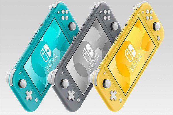 Nintendo Switch Lite in 3 Farben für je 189,90€ (statt 202€)
