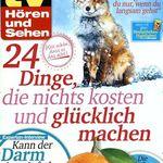 52 Ausgaben TV Hören und Sehen für 119,60€ – Prämie: 110€ Amazon Gutschein