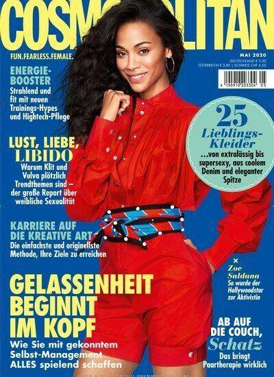 Cosmopolitan Jahresabo für 42€ + 30€ Scheck oder Amazon Gutschein