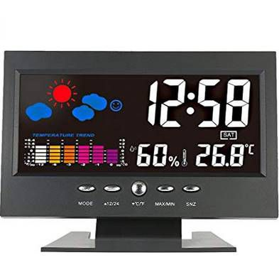 Digitale Wetterstation mit vielen Funktionen für 6,99€