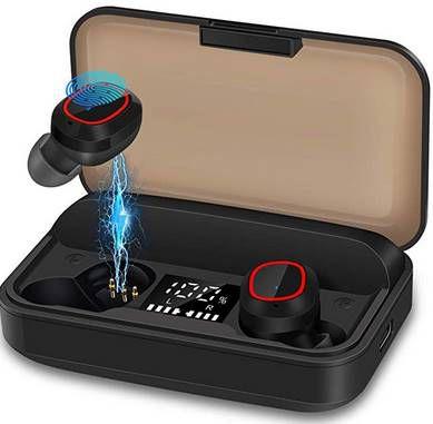 Bakibo S3 PRO BT 5.1 TWS InEar Kopfhörer mit 120h Spielzeit für 15,99€ (statt 30€)