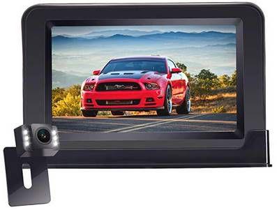 Yakola F4   kabellose Rückfahrkamera mit 4,3 Zoll Monitor für 69,59€ (statt 87€)