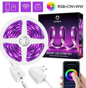 3m RGBWW LED Stripe mit App  & Sprachsteuerung für 21,59€ (statt 36€)